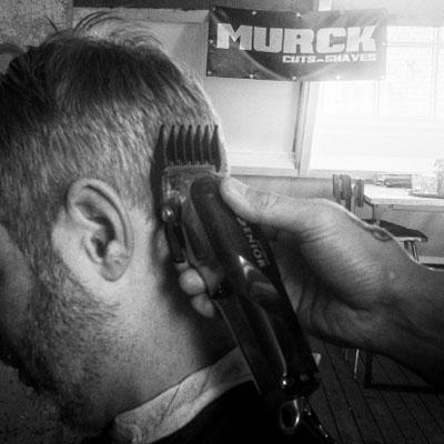 Barber Murck so fresh it hurts